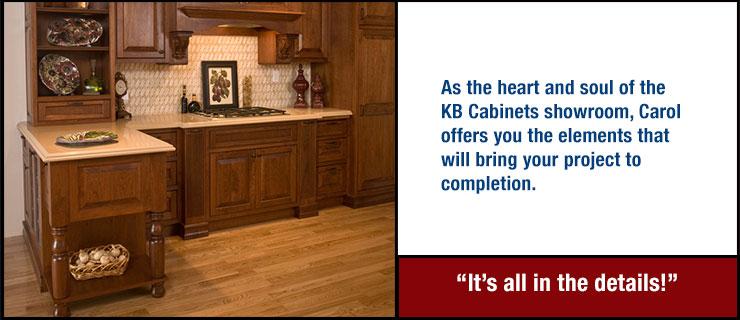 Visit The KB Cabinets Showroom